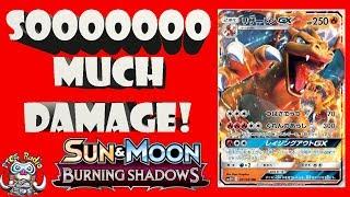 Charizard GX - Powerful new Pokémon GX does 300 Damage!