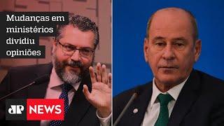Parlamentares se mostram surpresos com reforma ministerial repentina