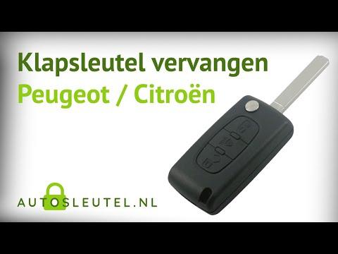 Elektronica vervangen klapsleutels Peugeot en Citroën - Auto-sleutel.nl