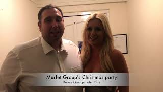 Murfet Group's christmas party