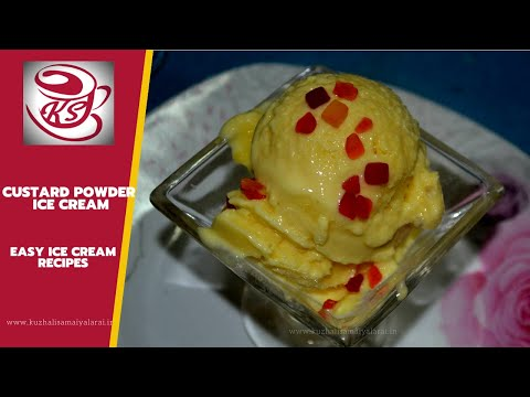 Video Custard Powder Ice cream