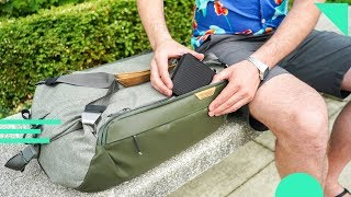 Peak Design Travel Duffel 35L Review | Carry-On Sized Duffle Bag With Smart Carry Features