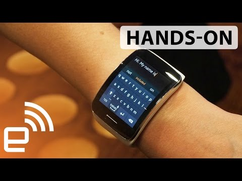 Samsung Gear S hands-on | Engadget
