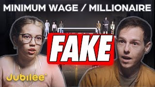 Jubilee Millionaire vs Minimum Wage is a Scam