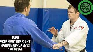 Judo Grip Fighting against right/same handed opponents Tutorial
