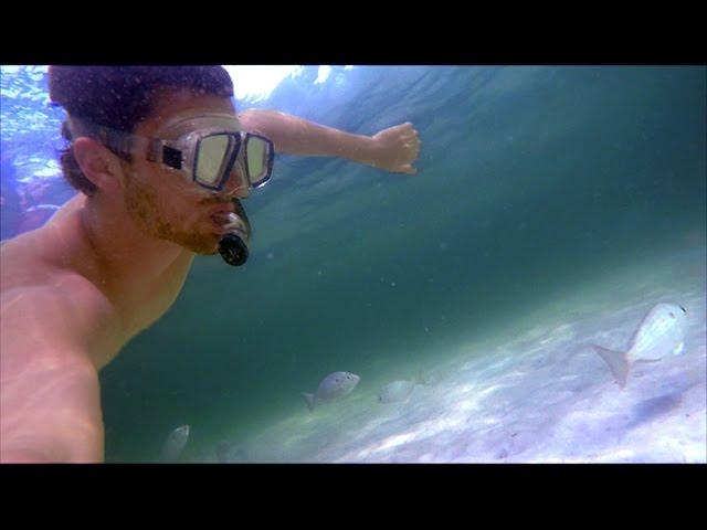 GoPro Hero 4: Shell Island, Florida Snorkeling