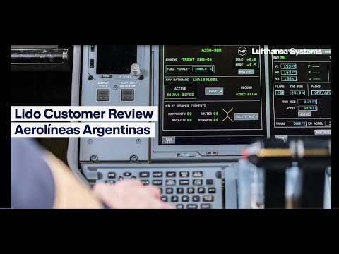 Embedded video for Lido Customer Review - Aerolíneas Argentinas