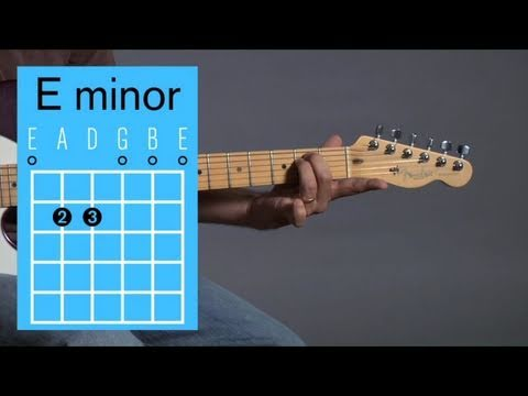 How to Play an E Minor Open Chord   Guitar Lessons