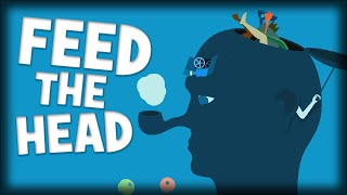 WHAT... Is This WEIRD GAME!? | Feed The Head