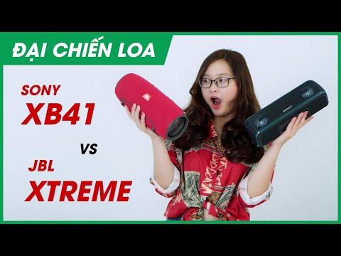 [Đại chiến loa] JBL Xtreme vs Sony SRS-XB41 l Loa nào hơn?