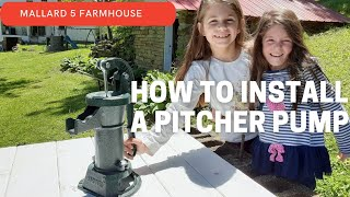 How To Install A Pitcher Pump