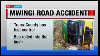 At least 20 people injured in road accident on the Mwingi - Garissa highway