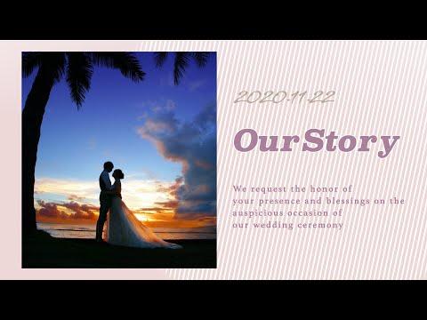 結婚式プロフィールムービー(つなぐ)作ります 【オプション全込み】修正無制限・DVD納品&データプレゼント イメージ1