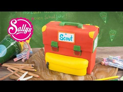 Einschulungstorte / Schulranzen Motivtorte & Gewinnspiel / Sallys Welt