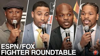 ESPN/FOX ROUNDTABLE FOR WILDER VS. FURY 2 WITH LENNOX LEWIS, ANDREW WARD, SHAWN PORTER & TIM BRADLEY