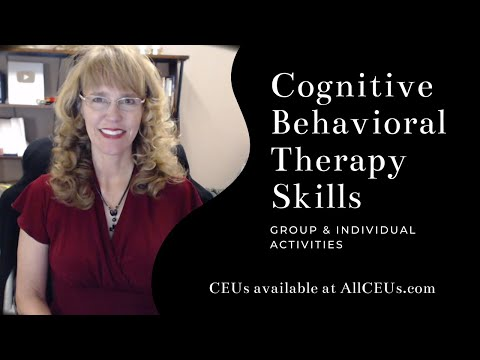 Cognitive Behavioral Therapy Skills: Counselor Toolbox Podcast ...