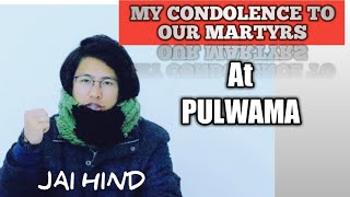 PULWAMA | Arunachal boy speaks up | northeast Indian💞