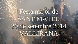 preview picture of video 'Festa major Vallirana, 20 de setembre 2014'