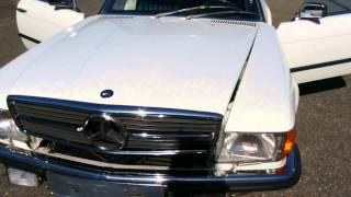 Mercedes-Benz 500sl 1984 for sale @ Vemu Car Classics