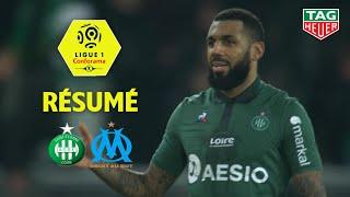 AS Saint-Etienne - Olympique de Marseille ( 2-1 ) - Résumé - (ASSE - OM) / 2018-19