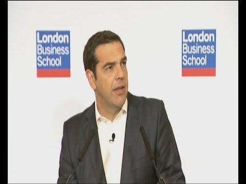 Ομιλία του Αλέξη Τσίπρα στο London Business School