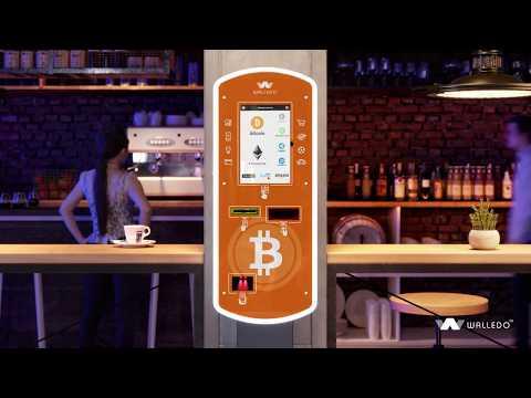 Bitcoin ATM Walledo ATM video