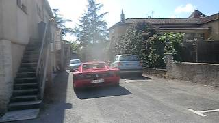 preview picture of video 'ferrari dans le village Touzac'