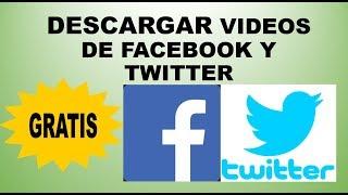 R  De Facebook Y Twitter