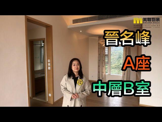 【#代理Vivian推介】晉名峰A座中層B室