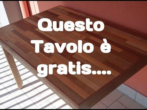 FAI DA TE - DIY - TAVOLO DI LEGNO PIEGHEVOLE A PARETE