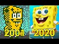 Evolution Of Spongebob Games 2001 2020