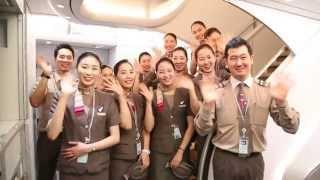 ASIANA AIRLINE A380 : Time To FLY With 아시아나A380 (승무원 영상제작동아리-러블리Bros.제작)