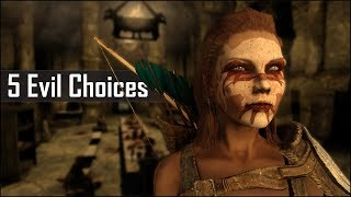 Skyrim: 5 Most Evil Things You Can Do and May Have Missed in The Elder Scrolls 5: Skyrim