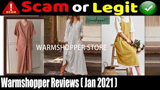 Warmshopper Reviews {January 2021} Is It a Legit Seller? Watch Video Now!   Scam Adviser Reports