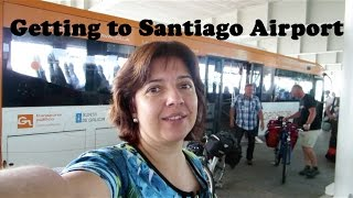 preview picture of video 'In Galicia? How to Get to Santiago de Compostela Airport (Spain)'