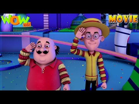 Motu Patlu In Carnival Island - Movie - Part 02| Movie Mania - 1 Movie Everyday | Wowkidz