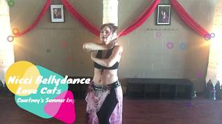Nicci Bellydance  The Lovecats