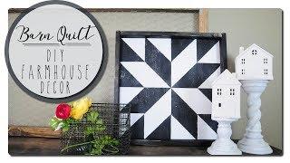 Barn Quilt - DIY Farmhouse Decor
