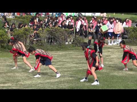 東柴又小DC「南中ソーラン」/江戸川河川敷C会場/第7回葛飾舞祭」