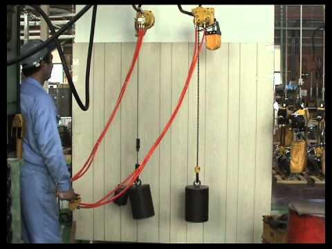 EHW Series Wire Rope Air Hoist