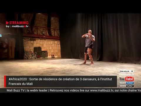 Sortie de résidence de la Chorégraphe danseuse Adjara Traoré
