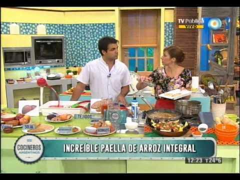Cómo evitar el colesterol y paella integral con romasco