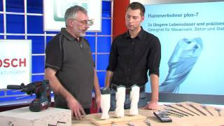 Werkzeug TV Folge 9 Bosch Bohrer SDS-Plus