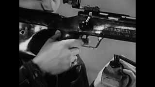 Малокалиберная винтовка, Техника стрельбы стоя