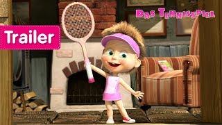Mascha und der Bär - Das Tennisspiel 🎾(Trailer)