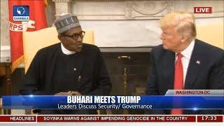 Nigerian Herdsmen Don't Carry Weapons Buhari Tells Trump