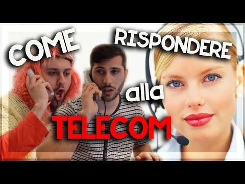 COME RISPONDERE alla TELECOM
