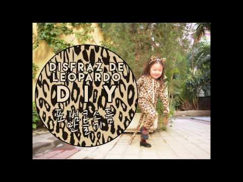 DIY DISFRAZ DE LEOPARDO PARA NIÑOS ⎮ SEWUL KIM