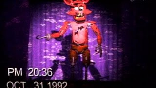 [FNAF] Halloween party show tape (Foxy)