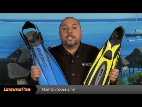 How To Choose a Diving Fin - By Leisurepro